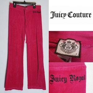 Juicy Couture Pants Sz S / P Track Pink Velvet
